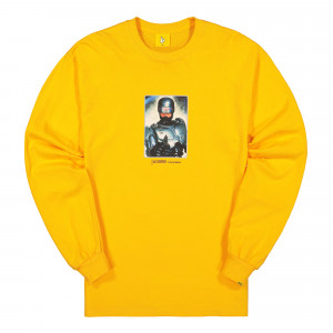 Fucking Rabbits Thank You For Not Smoking Longsleeve Tee ( FRC599 / Yellow )