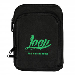 Loop Shoulder Pouch Logo Green