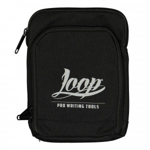 Loop Logo Shoulder Pouch Silver