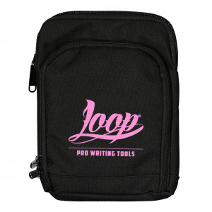 Loop Shoulder Pouch Logo Pink