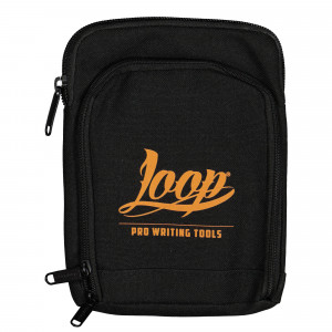 Loop Shoulder Pouch Logo Orange