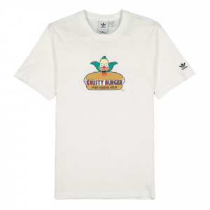 The Simpsons x adidas Krusty Burger Tee ( HA5821 )