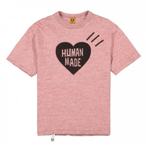 Human Made Heart Color T-Shirt ( HM18TS001 / Pink )