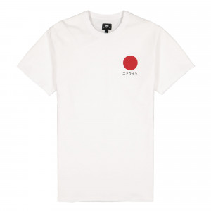 Edwin Japanese Sun TS Single Jersey ( I025020.02.67.03 / White )