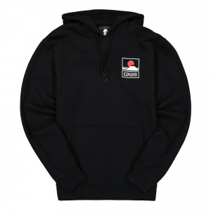 Edwin Sunset on Mt Fuji Hoodie Sweat ( I025851.89.48.03 / Black )