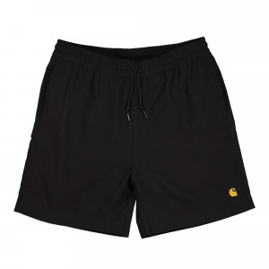 Carhartt WIP Chase Swim Trunks ( I026235.89.90.03 - Black / Gold )
