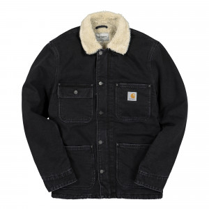 Carhartt WIP Fairmount Coat ( I027546.89.06.03 / Black Stone Washed )