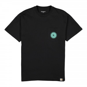 Carhartt WIP Note Pocket Tee ( I027754.89.00.03 / Black )