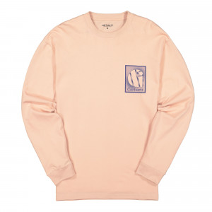 Carhartt WIP Foundation Longsleeve Tee ( I027755.08T.90.03 / Powdery )