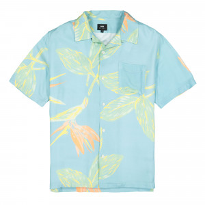 Edwin Birds Of Paradise Resort SS Shirt ( I028047.BPA.50.03 / Angel Blue )