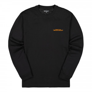 Carhartt WIP L/S International Operations T-Shirt ( I028467.89.90.03 / Black )