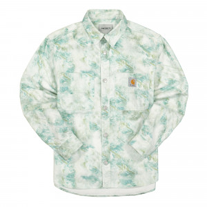 Carhartt WIP L/S Marble Shirt ( I029168.0DD.06.03 / Marble / Wave )