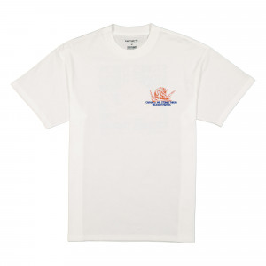 Relevant Parties x Carhartt WIP S/S Stones Throw T-Shirt ( I029380.02.00.03 / White )