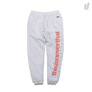 thisisneverthat Intl. Logo Sweatpant ( TN17FBT003IR / Light Grey )