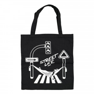 Montana Cotton Bag Street Life by Form 76 Black