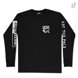 Pacemaker Global Pace Long Sleeve ( Black / Grey / White )