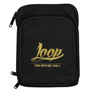 Loop Shoulder Pouch Logo Gold