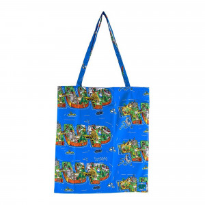 1UP x Lousy Livin Cotton Bag OneUp 4.0 ( J-LL4-B / Blue )