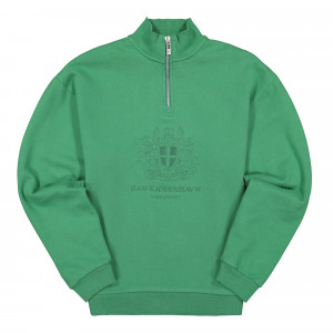 Han Kjobenhavn Half Zip Sweat ( M-130080 / Green )