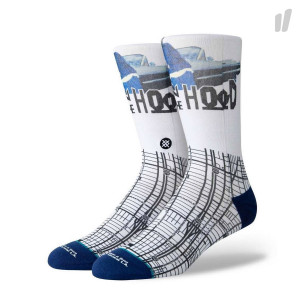 Stance South Central Socks ( M545A19SOC-WHT )