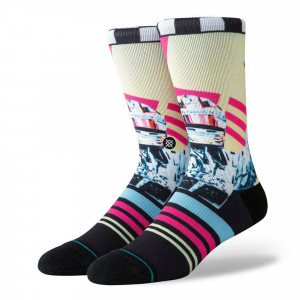 Stance Foundation Global Player Socks ( M558C19GLO-MUL )