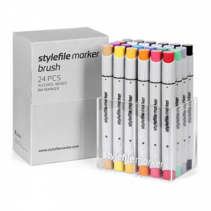 Stylefile Marker Brush 24er Main Set A