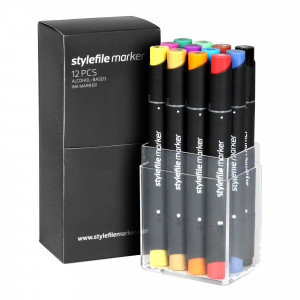 Stylefile Marker 12er Main Set A