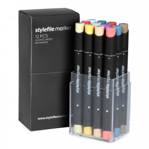 Stylefile Marker 12er Main Set C