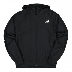 New Balance Athletics Full Zip Windbreaker ( MJ01502BK / 777200-60-8 )