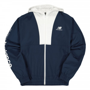 New Balance Athletics Full Zip Windbreaker ( MJ01502NGO / 777200-60-5 )