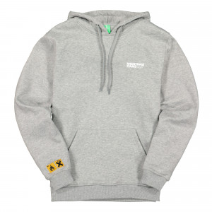Montana Logo Hoody ( Grey Heather / Black )