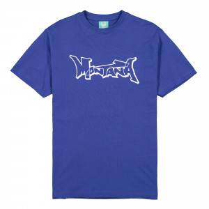 Montana Logo T-Shirt ( Royal Blue / White )