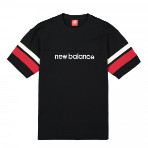 New Balance Athletics Stadium Short Sleeve Jersey ( MT93542BK / 740140-60-8 / Black )