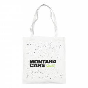 Montana Cotton Bag Typo Logo Stars ( 526022 / White )