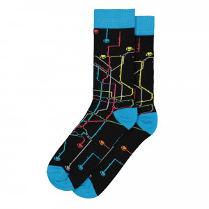 MTN Metro Socks ( SPRP0101 / Black )