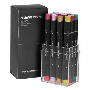 Stylefile Marker 12er Multi Set 20
