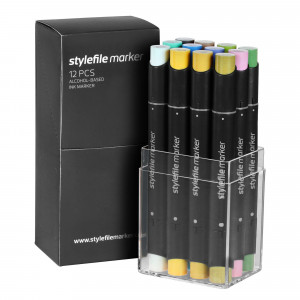 Stylefile Marker 12er Multi Set 21