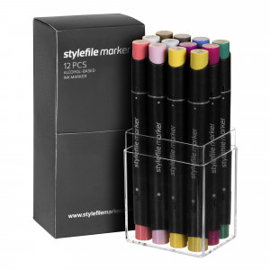 Stylefile Marker 12er Multi Set 26