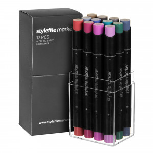 Stylefile Marker 12er Multi Set 30