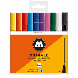 Molotow ONE4ALL 127HS Basic 10 Set 1