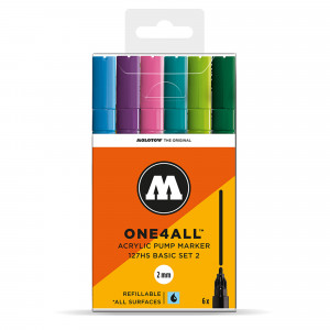 Molotow ONE4ALL 127HS Basic 6 Set 2