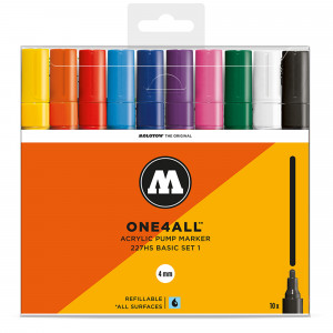 Molotow ONE4ALL 227HS Basic 10 Set 1