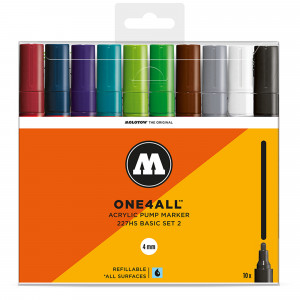 Molotow ONE4ALL 227HS Basic 10 Set 2