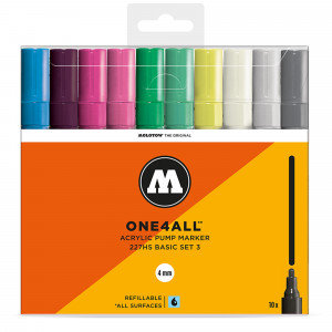 Molotow ONE4ALL 227HS Basic 10 Set 3