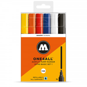 Molotow ONE4ALL 227HS Basic 6 Set 1