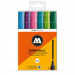 Molotow ONE4ALL 227HS Basic 6 Set 2