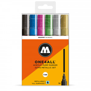 Molotow ONE4ALL 227HS Metallic-Set