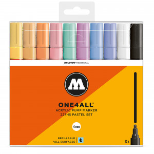 Molotow ONE4ALL 227HS Pastel-Set