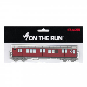 On The Run Magnet New York Subway Red