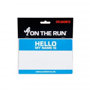 On The Run Magnet Hello My Name Is...